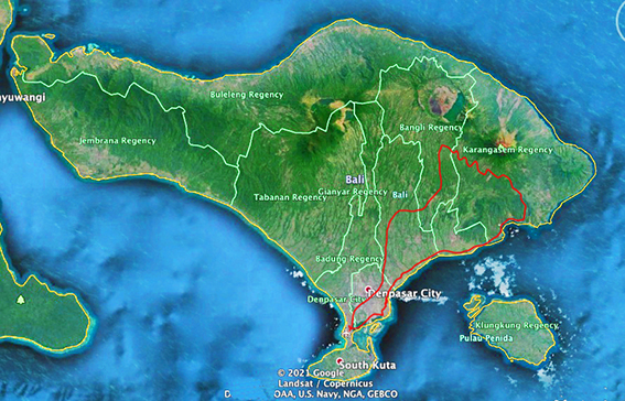 east-Bali-map