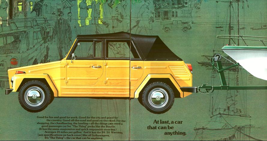 Safari Jeep Advertisment