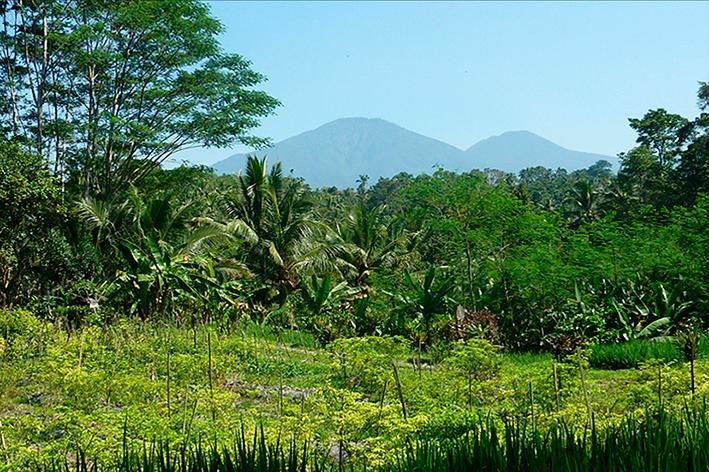 Batu-Karo-mountain