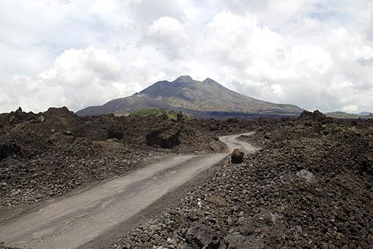 Batur-lava-fields